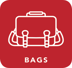 icon of bag which is acceptable for recycling