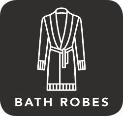 icon of bath robes which are unacceptable for recycling