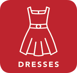 icon of dress which is acceptable for recycling