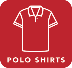 icon of polo shirt which is acceptable for recycling