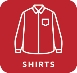 icon of shirt which is acceptable for recycling