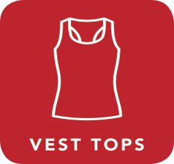 icon of vest which is acceptable for recycling