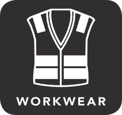 icon of workwear which is unacceptable for recycling
